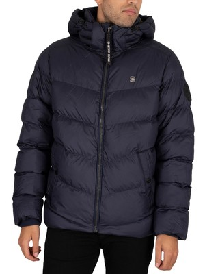 G-Star Whistler Puffer Jacket - Sartho Blue
