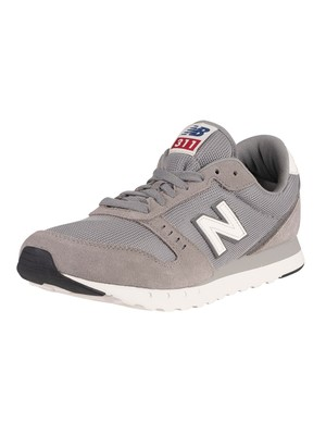 New Balance 311v2 Suede Trainers - Team Away Grey/Castlerock