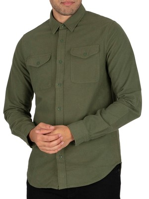 Superdry Trailsman Shirt - Army Moleskin