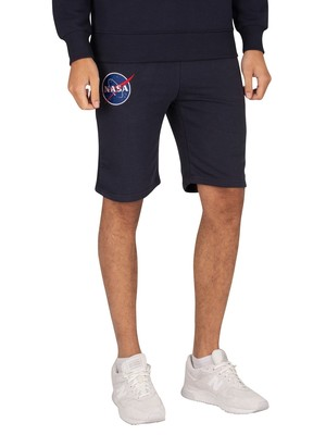 Alpha Industries NASA Basic Sweat Shorts - Rep Blue