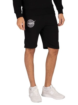 Alpha Industries NASA Basic Sweat Shorts - Black