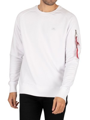 Alpha Industries X-Fit Sweatshirt - White