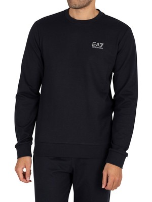 EA7 Logo Sweatshirt - Night Blue