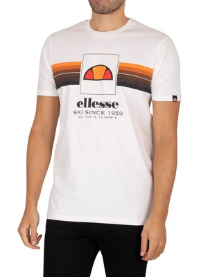 Ellesse Colo Graphic T-Shirt - White