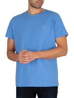 GANT The Original T-Shirt - Pacific Blue