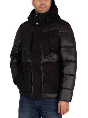 G-Star Utility Pocket Puffer Jacket - Dark Black