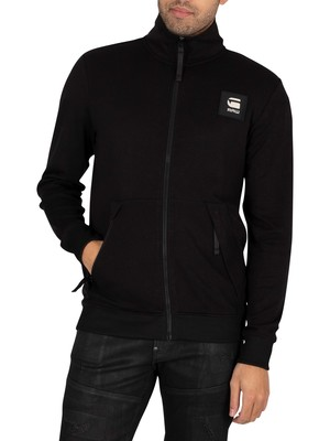 G-Star Zip Through Track Jacket - Dark Black
