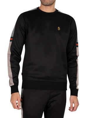 Luke 1977 Patter Sweatshirt - Jet Black