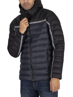 Superdry Dolman Downhill Racer Fuji Jacket - Black