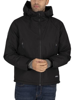 Superdry Padded Elite Windcheater Jacket - Black