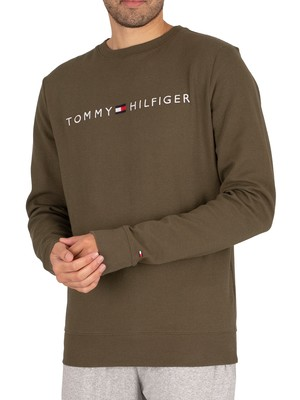 Tommy Hilfiger Lounge Graphic Sweatshirt - Army Green
