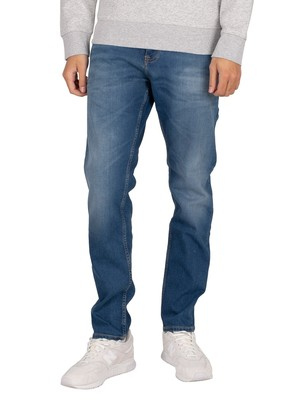 Tommy Jeans Austin Slim Jeans - Wilson Mid Blue Stretch