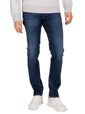 Tommy Jeans Scanton Slim Jeans - Aspen Dark Blue Stretch