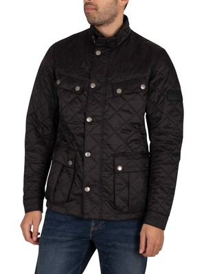 Barbour International Ariel Quilt Jacket - Black