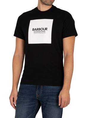 Barbour International Block Slim T-Shirt - Black