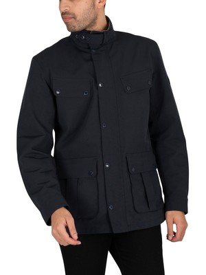 Barbour International Summer Waterproof Duke Jacket - Navy