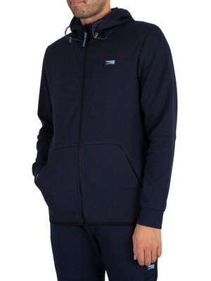 Jack & Jones Air Zip Hoodie - Navy Blazer
