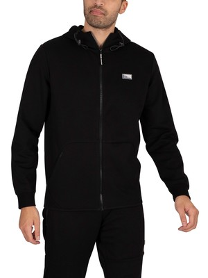 Jack & Jones Air Zip Hoodie - Black