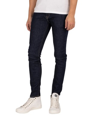 Jack & Jones Liam Original 074 Skinny Jeans - Blue Denim