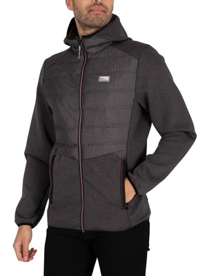Jack & Jones Toby Hybrid Jacket - Black