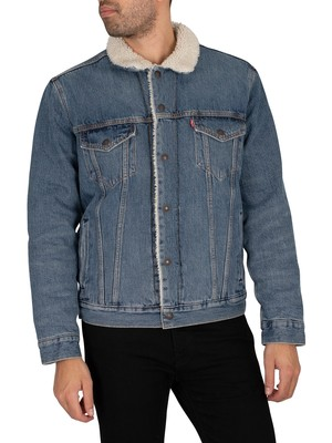 Levi's Type 3 Sherpa Trucker Jacket - Fable