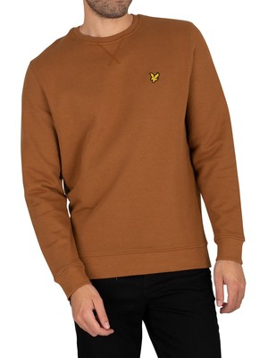 Lyle & Scott Crew Sweatshirt - Tawny Brown