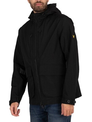 Lyle & Scott Hooded Jacket - Jet Black