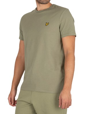 Lyle & Scott Plain Organic Cotton T-Shirt - Moss