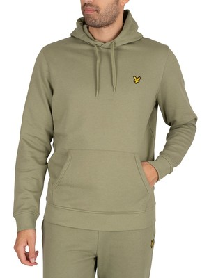 Lyle & Scott Pullover Hoodie - Moss