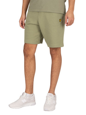 Lyle & Scott Sweat Shorts - Moss