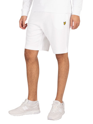 Lyle & Scott Sweat Shorts - White