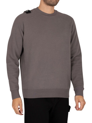 MA.STRUM Core Crew Sweatshirt - Dark Slate