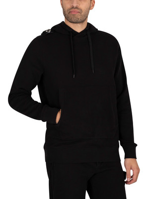 MA.STRUM Core Pullover Hoodie - Jet Black
