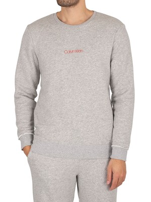 Calvin Klein CK One Lounge Sweatshirt - Grey Heather