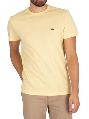 Lacoste Croc T-Shirt - Yellow