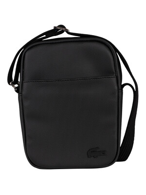 Lacoste Slim Vertical Camera Bag - Black