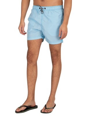 Superdry Studios Swim Shorts - Vibrant Blue Stripe