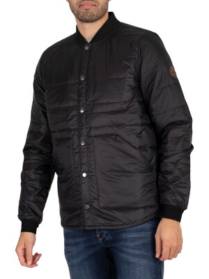 Timberland Compatible Layering System Bomber Jacket - Black