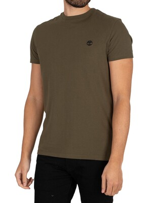 Timberland Dun River Crew Slim T-Shirt - Grape Leaf