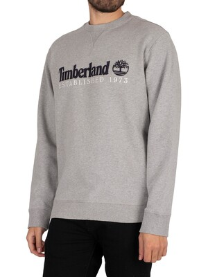 Timberland Established 1973 Sweatshirt - Grey Marl