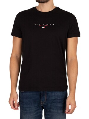 Tommy Hilfiger Essential T-Shirt - Black