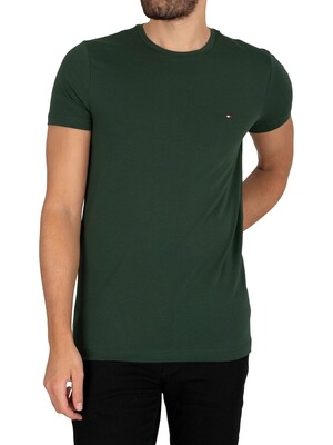 Tommy Hilfiger Stretch Slim Fit T-Shirt - Pine Grove