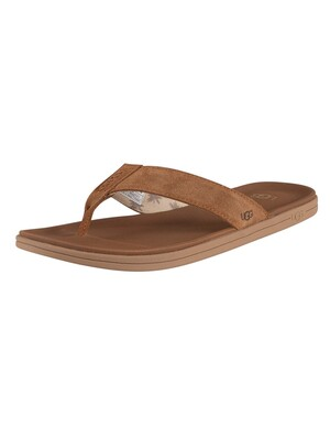 UGG Brookside Flip Flops - Chestnut