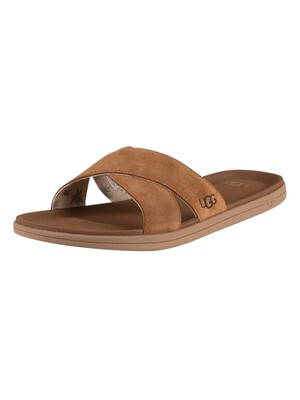 UGG Brookside Slide - Chestnut
