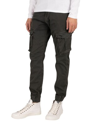 Alpha Industries Spy Cargos Trousers - Grey/Black