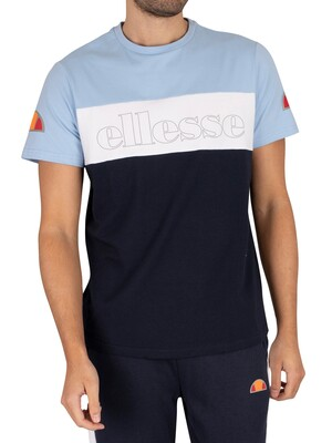 Ellesse Pogbino T-Shirt - Light Blue
