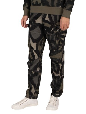 G-Star Roxic Straight Tapered Cargos - Shamrock Brushed Objects