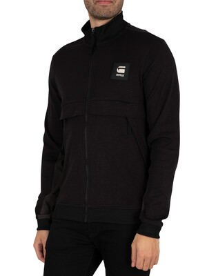 G-Star Tweater Box Zip Through Jacket - Dark Black