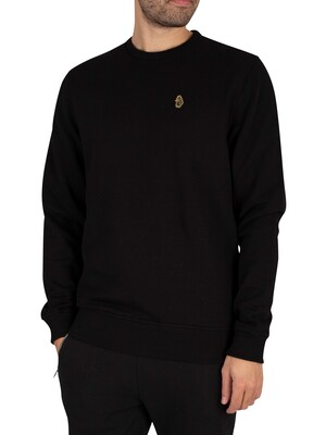 Luke 1977 London Sweatshirt - Jet Black