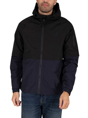 MA.STRUM Zip Hooded Jacket - Jet Black